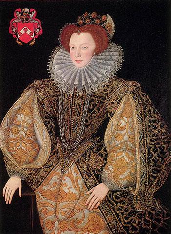 Dudley ponoć złamał królowej serce, żeniąc się zLettice Knollys. ©Wikimedia Commons.