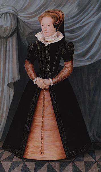 Młoda Maria Tudor. Wbrew powszechnemu mniemaniu, Maria darzyła maleńką Elżbietę siostrzanym uczuciem. ©Wikimedia Commons.