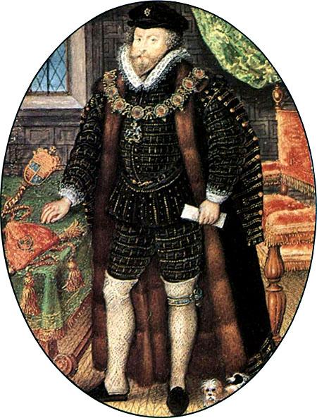 Także Christopher Hatton zdołał wkraść się właski Elżbiety. ©Wikimedia Commons.