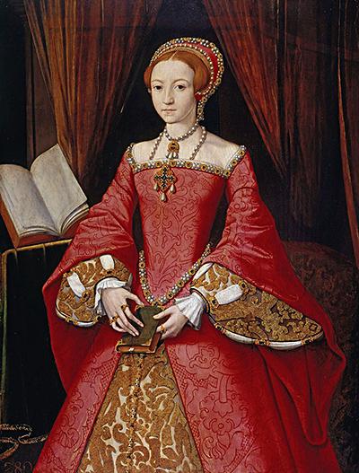 Po śmierci ojca trzynastoletnia księżniczka Elżbieta trafiła podopiekę królowej wdowy, Katarzyny Parr. ©Wikimedia Commons.