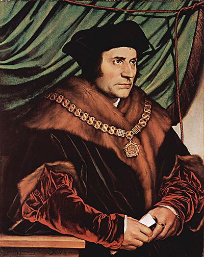 Tomasz Morus został skazany naśmierć istracony 6 lipca 1535 roku. ©Wikimedia Commons.