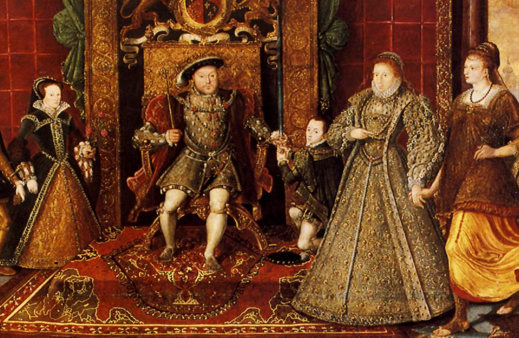 Z dzisiejszej perspektywy rodzina Henryka VIII była podwieloma względami dysfunkcyjna. ©Wikimedia Commons