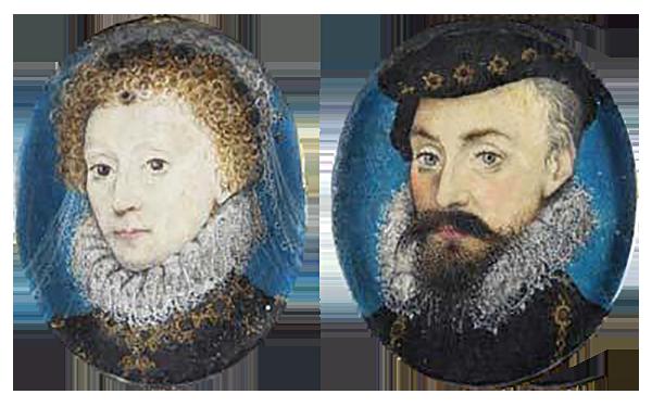 Według jednej zteorii Elżbieta iRobert Dudley mieli sporą gromadkę dzieci. ©Wikmedia Commons.