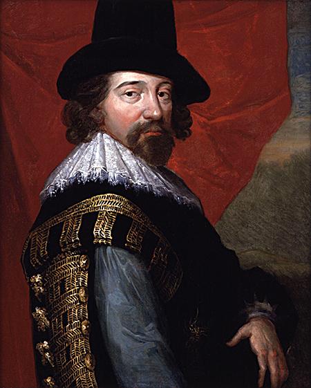 Francis Bacon - kolejny rzekomy Szekspir izarazem syn Elżbiety iDudleya. ©Wikmedia Commons.