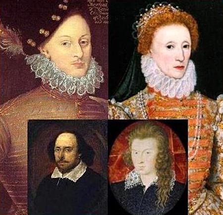 Elżbieta iEdward de Vere mieli być rodzicami prawdziwego Szekspira. Kiedy teorię zmodyfikowano, jego miejsce zajął Southampton. ©Wikmedia Commons.