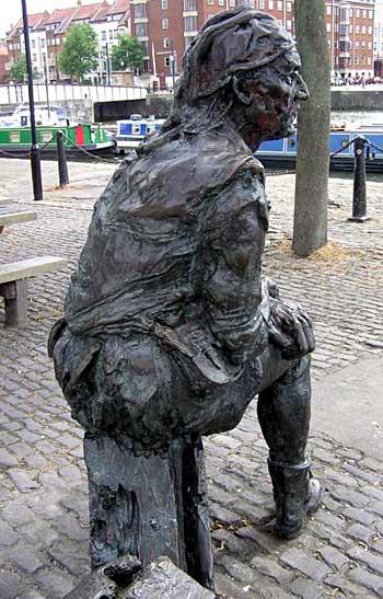 Pomnik Johna Cabota wBristolu. ©Wikimedia Commons.