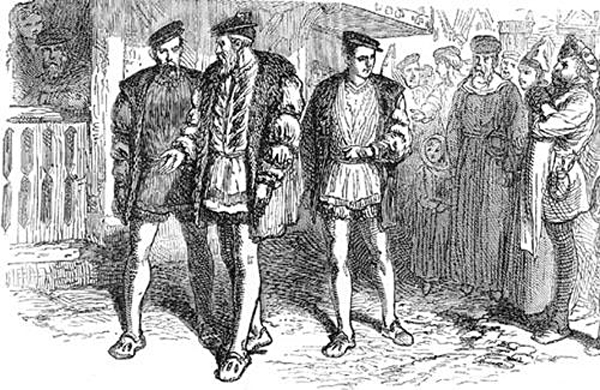 John Cabot przybywa doLondyny. ©wikimedia Commons.