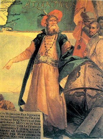 John Cabot nawizerunku pędzla Giustino Menesardiego zroku 1762. ©Wikimedia Commons.