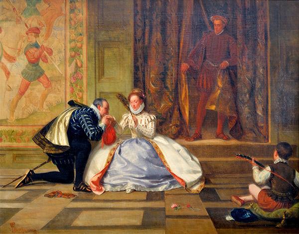 Czy tajemniczy Arthur Dudley rzeczywiście mógł być synem królowej Elżbiety iRoberta Dudleya? ©Wikimedia Commons