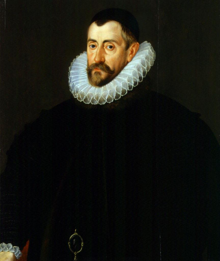 Wedle jednej zteorii Arthur Dudley był szpiegiem nausługach Francisa Walsinghama, wpływowego polityka iszefa siatki szpiegowskiej elżbietańskiej Anglii. ©Wikimedia Commons