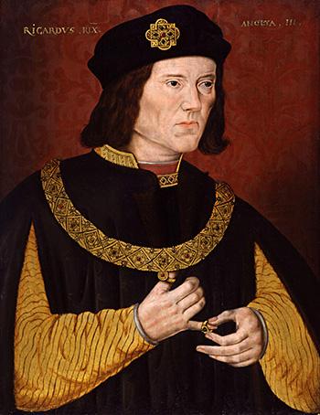 Jeden zportretów ukazujących Ryszarda III. ©Wikimedia Commons.