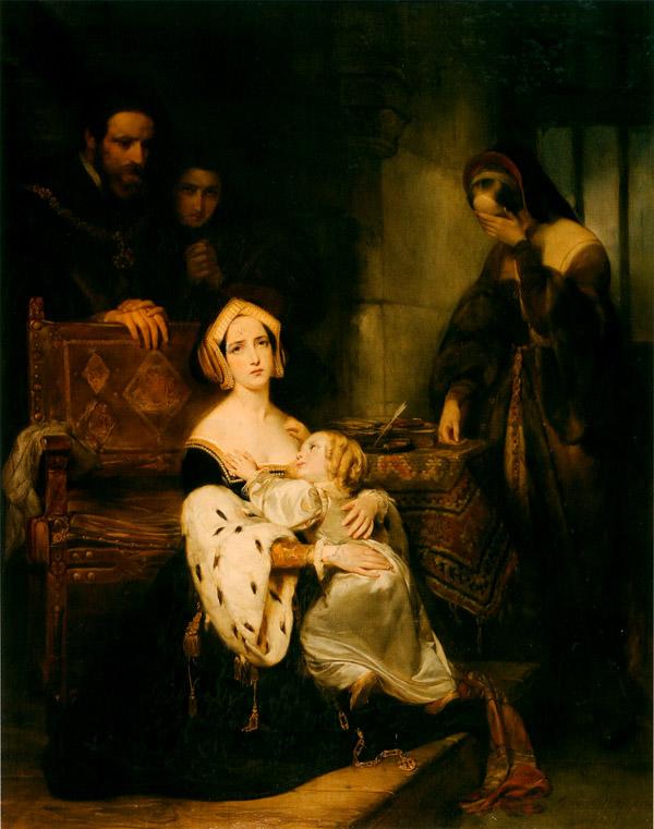 Anna niezdążyła nacieszyć się swoją jedyną córką – została ścięta, gdymała Elżbieta miała niespełna trzy lata. Archiwum wydawnictwa.