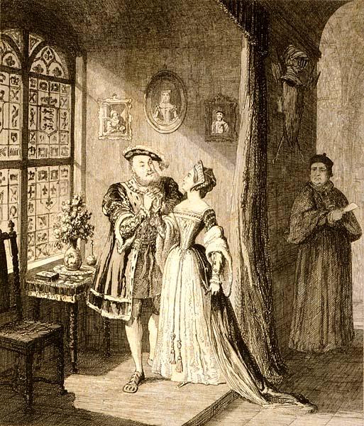 Anna Boleyn, biorąc sekretny ślub zHenrykiem wstyczniu 1533 roku, spodziewała się już dziecka. ©Wikimedia Commons, domena publiczna.