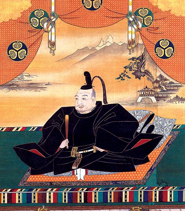 Tokugawa Ieyasu – pierwszy szogun zrodu Tokugawa. ©Wikimedia Commons, domena publiczna.
