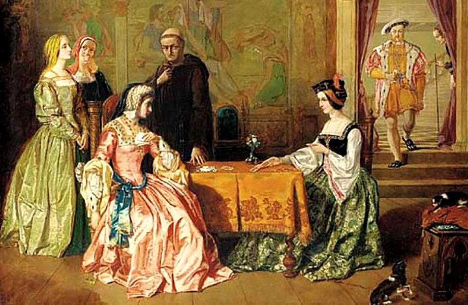 Dwórka Anna Boleyn pozawrotnej karierze nadworze zajęła miejsce królowej – Katarzyny Aragońskiej. ©Wikimedia Commons, domena publiczna
