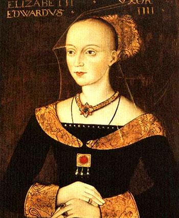 Portret Elżbiety Woodville. ©Wikimedia Commons, domena publiczna.