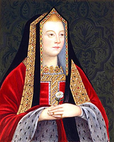 Elżbieta York, najstarsza córka Elżbiety Woodville iEdwarda IV, poślubiła Henryka VII Tudora izostała królową Anglii. ©Wikimedia Commons, domena publiczna.