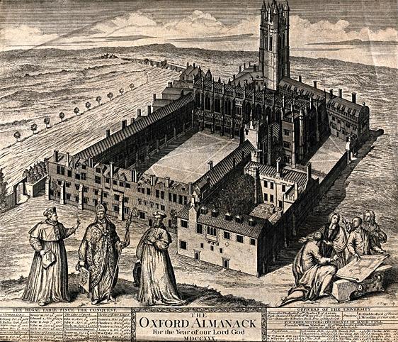 Magdalen College, wktórym studiował Wolsey. ©Wikimedia Commons, domena publiczna.