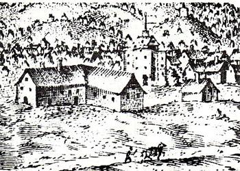 Teatr Curtaine około 1600 roku. ©Wikimedia Commons, domena publiczna.