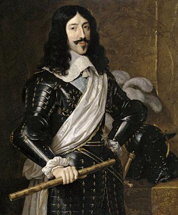 Ludwika XIII, ojca Króla Słońce, wpędziły dogrobu praktyki lekarzy. ©Wikimedia Commons, domena publiczna.