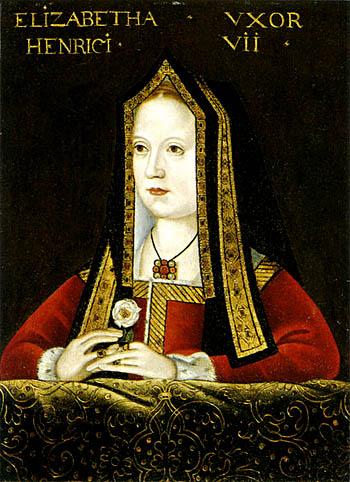 Elżbieta York, żona Henryka VII, była wyjątkowo płodną kobieta izachodziła wciążę wielokrotnie, choć niewszystkie dzieci przeżyły. Chęć obdarzenia króla licznym potomstwem przypłaciła wkońcu śmiercią, umierając pourodzeniu córki Katarzyny wlutym 1503 roku. ©Wikimedia Commons, domena publiczna.