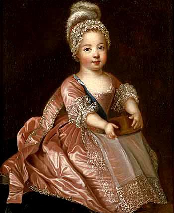 Gdyby nieinterwencja opiekunki przyszłego Ludwika XV, chłopiec nieprzeżyłby odry. ©Wikimedia Commons, domena publiczna.