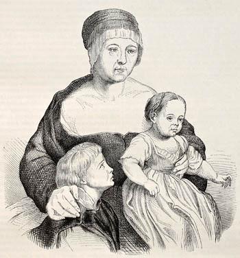 Wydanie naświat dziecka było obowiązkiem każdej zamężnej kobiety. Jeśli dopisało jej szczęście, mogła zadowolić męża nawet gromadką zdrowych potomków. ©Shutterstock.com, Marzolino.