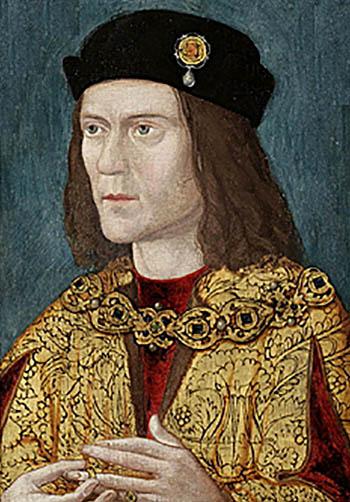 Jeden zportretów Ryszarda III. ©Wikimedia Commons, domena publiczna.