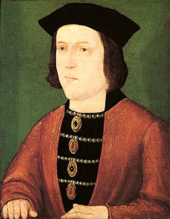 Ryszard III był bardzo lojalny wobec swego brata, króla Edwarda IV. ©Wikimedia Commons, domena publiczna.