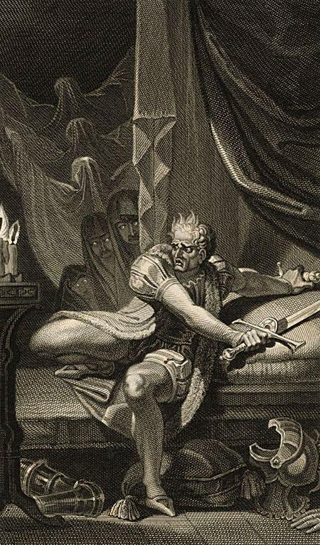 Podobno wnoc, poprzedzającą bitwę podBosworth, Ryszarda dręczyły nieustające koszmary. ©Wikimedia Commons, domena publiczna.