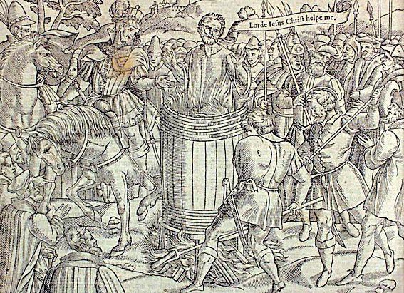 John Badby umiera nastosie. ©Wikimedia Commons, domena publiczna.