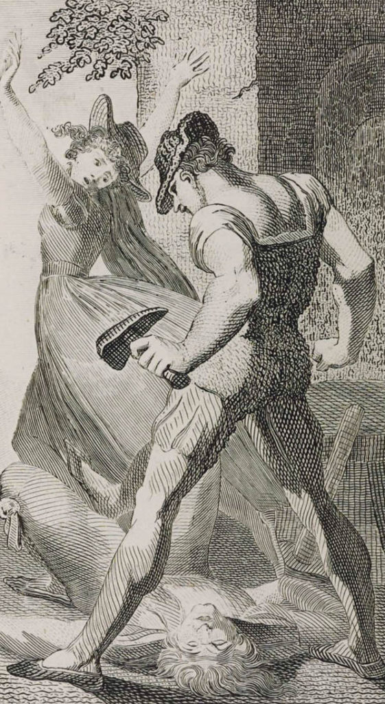 Wat Tyler nagrawiurze Williama Blake'a zroku 1797. ©Wikimedia Commons, domena publiczna.