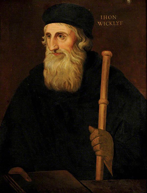 Portret Johna Wycliffe'a zroku około 1828. ©Wikimedia Commons, domena publiczna.