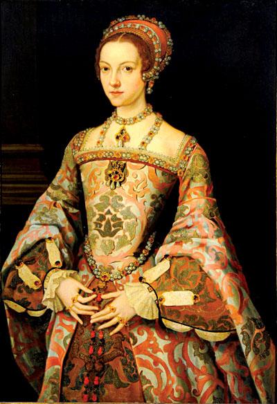 Kolejny portret, którynajprawdopodobniej przedstawia Katarzynę Parr. ©Wikimedia Commons, domena publiczna.