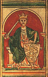 Jeden zportretów Ryszarda Lwie Serce. ©Wikimedia Commons, domena publiczna