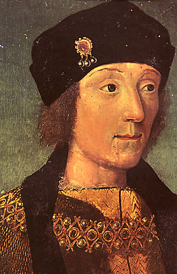 Henryk VII przezcałe rządy był władcą niezwykle podejrzliwym, alezmałżonką, królową Elżbieta, łączyło go szczere uczucie. ©Wikimedia Commons, domena publiczna.
