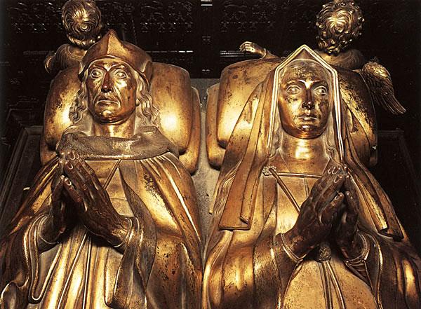 Nagrobek pary królewskiej wopactwie westminsterskim. ©Wikimedia Commons, Lisby.
