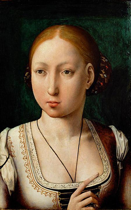Portret Joanny Szalonej, córki Królów Katolickich. ©Wikimedia Commons, domena publiczna.