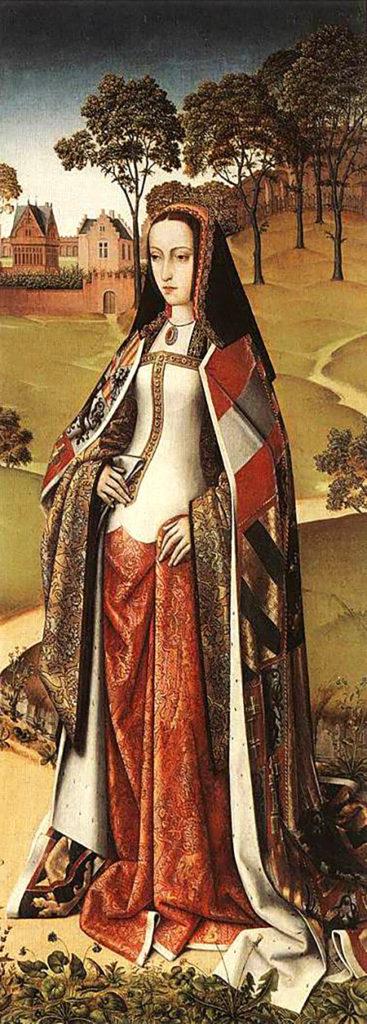 Joanna naportrecie zokoło 1500 roku. ©Wikimedia Commons, domena publiczna.