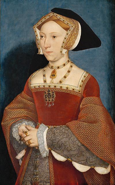 Królowa Jane Seymour, trzecia żona Henryka VIII. ©Wikimedia Commons, domena publiczna.