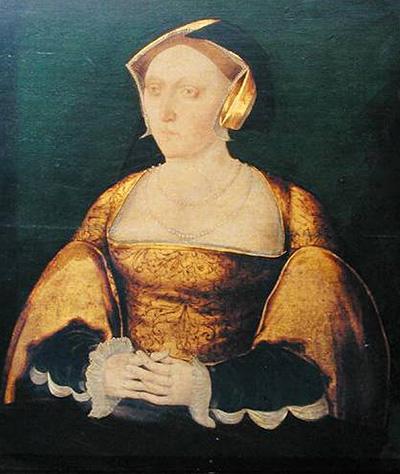 Portret przedstawiający najprawdopodobniej Jane Seymour, wykonany w1536 – wpierwszym roku poślubie zHenrykiem VIII. ©Wikimedia Commons, domena publiczna.