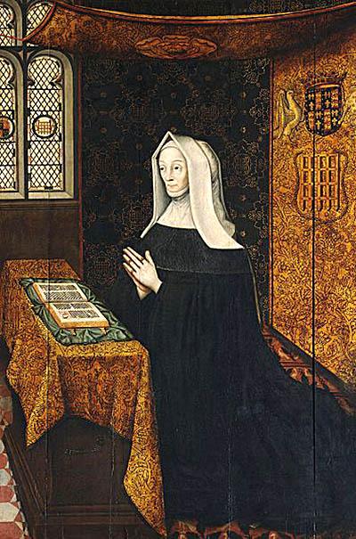 Edmund Tudor ożenił się zpowierzoną jego opiece Małgorzatą Beaufort. ©Wikimedia Commons, domena publiczna.