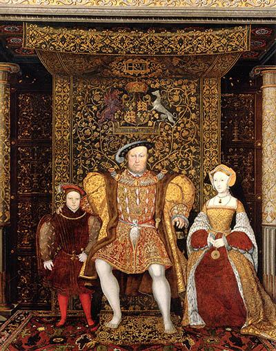 Za rekordzistę wzawieraniu małżeństw zwykło się uważać Henryka VIII, którybył żonaty aż sześciokrotnie. ©Wikimedia Commons, domena publiczna.