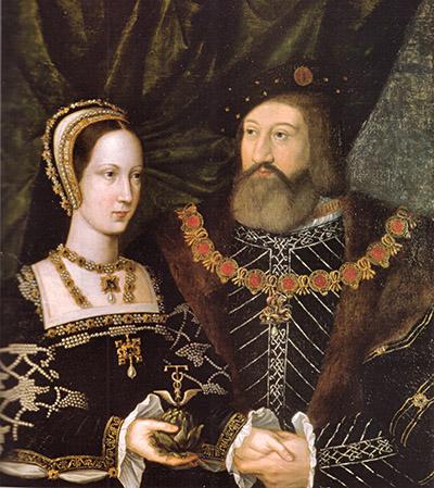 Przyjaciel króla, Karol Brandon, miał aż cztery żony. Jedną znich była Maria Tudor, siostra monarchy. ©Wikimedia Commons, domena publiczna.