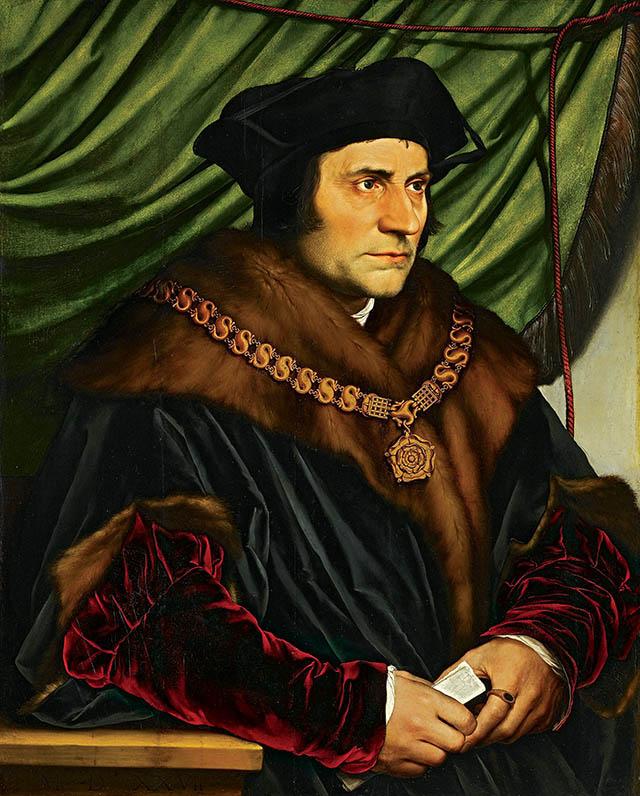 Nim Henryk VIII iMorus poróżnili się, głosili podobne poglądy co dotez Lutra. Wikimedia Commons, domena publiczna.