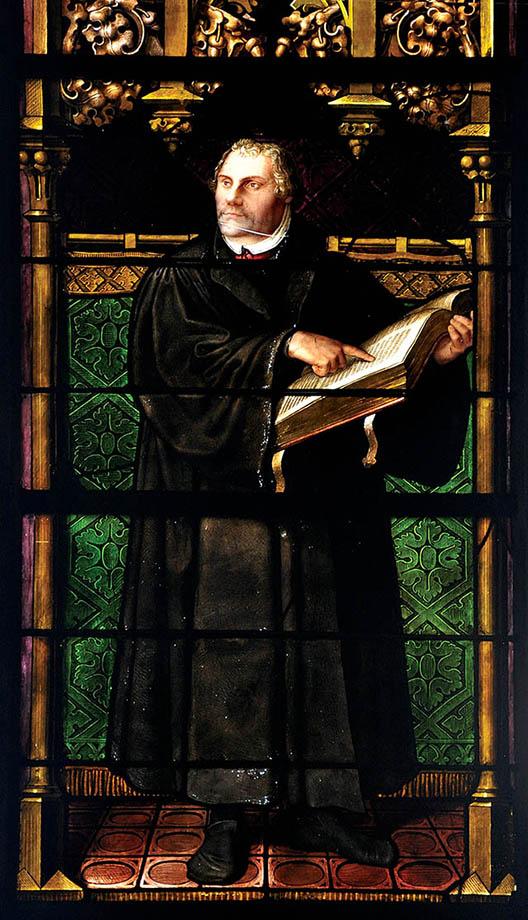 Marcin Luter, podobnie jak Henryk, stał się wrogiem papiestwa. Wikimedia Commons, domena publiczna.