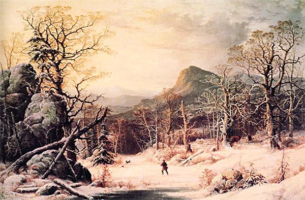 Zimowe łowy. ©Wikimedia Commons, domena publiczna.