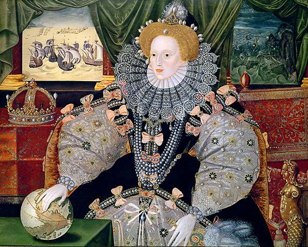Portret zArmadą. Przepych jednej znajsłynniejszych sukni świata onieśmiela. ©Wikimedia Commons. Domena publiczna.